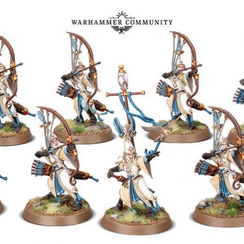 Desvelados los arqueros y nuevo personaje mago de los Lumineth