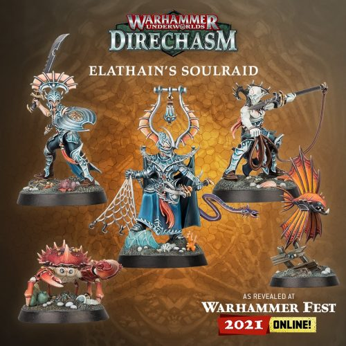 La banda Elathain's Soulraid completa la plantilla de Direchasm con los Idoneth Deepkin