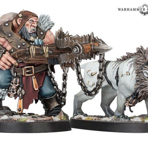La banda de Hrothgorn, nueva incorporación para Warhammer Underworlds
