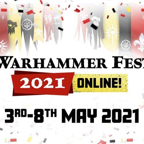 Warhammer Fest online del 3 al 8 de mayo con novedades para Age of Sigmar y otros juegos