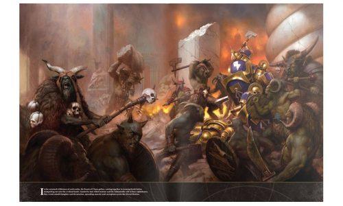 Los tambores de guerra de Bestias del Caos se escuchan en el podcast…