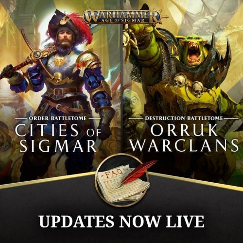 FAQs para Orruk Warclans y Cities of Sigmar
