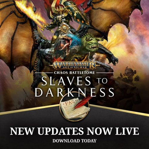 FAQs para Slaves to Darkness