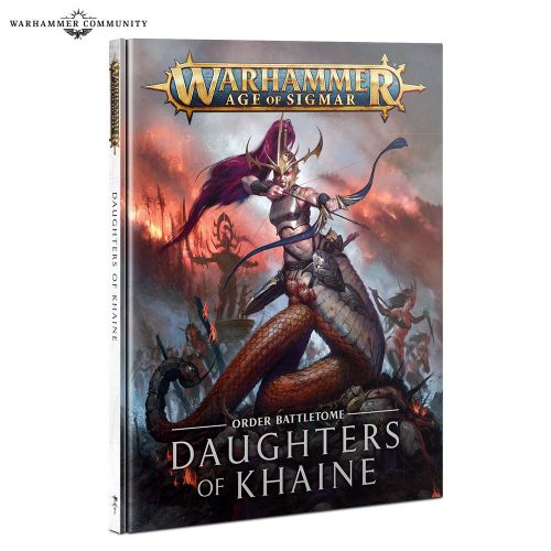 Battletome Daughters of Khaine: subfacciones