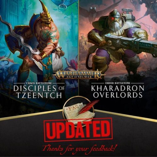 FAQs de FAQs: Kharadron Overlords y Disciples of Tzeentch