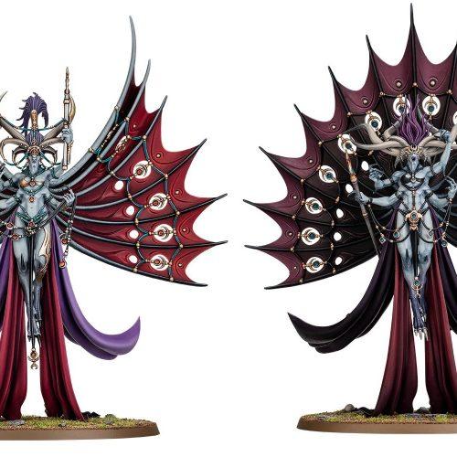 Reveladas Dexcessa y Synessa, nuevos Demonios de Slaanesh