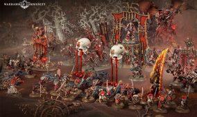 ¡Altar de cráneos y juicios de khorne!