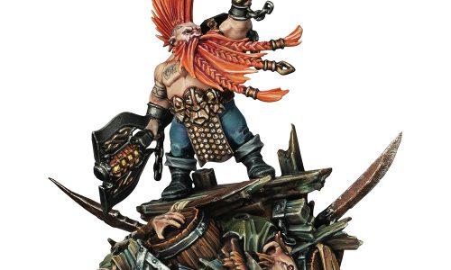 Una nueva miniatura de Gotrek acompaña a su saga en Age of Sigmar