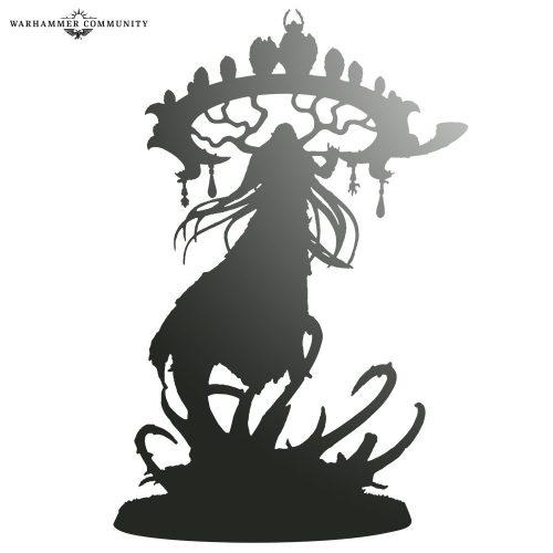 Una silueta Sylvaneth es el siguiente avance de miniatura de Broken Realms