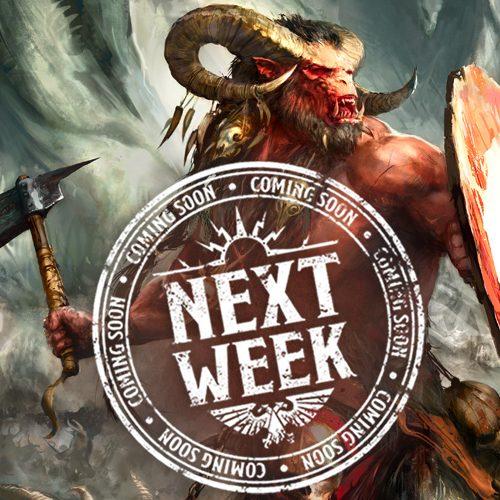 Bestias del Caos en pre-pedido la semana que viene