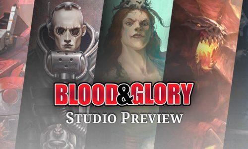 Locura desatada en el seminario del Blood & Glory