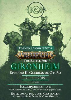 The battle for Gironheim: Guerras de otoño @ Club de joc Kekstealer | Girona | Catalunya | España