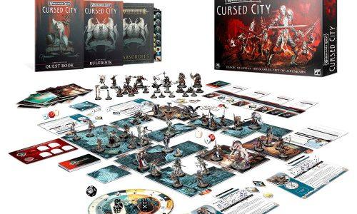 Warhammer Quest: Cursed City en prepedido este sábado