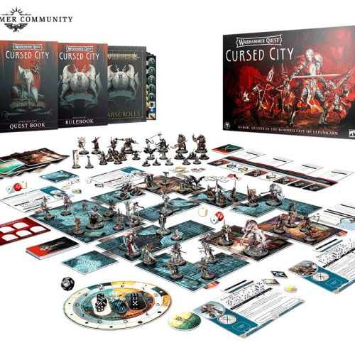 Warhammer Quest: Cursed City en prepedido este sábado