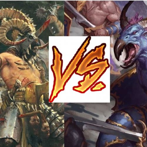 Mathhammer: Tzaangors VS Bestigors