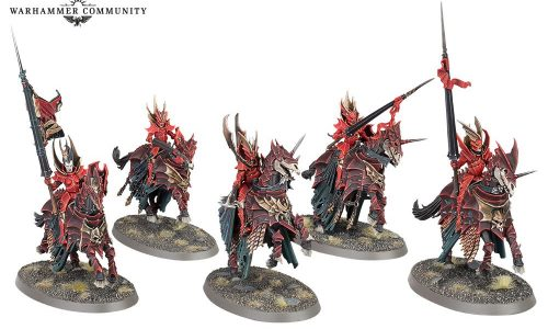 Desveladas nuevas miniaturas de los vampíricos Soulblight Gravelords