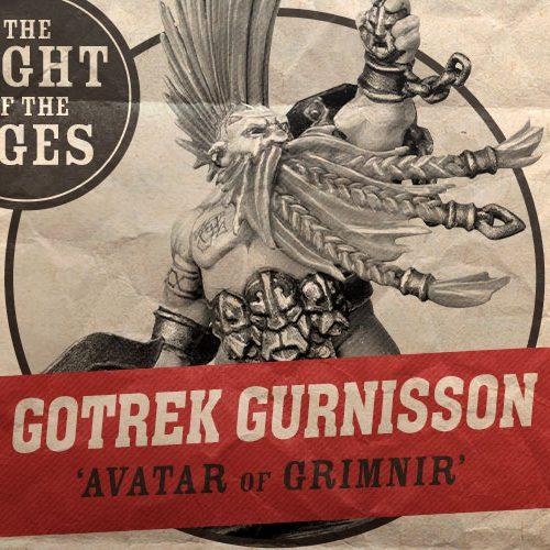 El apabullante warscroll de Gotrek Gurnisson