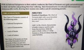 Los nuevos warscrolls de demonios de Khorne y Slaanesh
