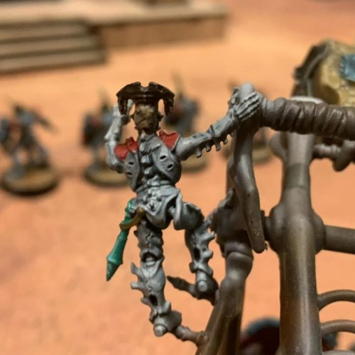 Informe de batalla en estilo clásico: Ogor Mawtribes vs Ossiarch Bonereapers
