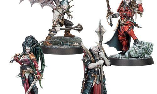La próxima semana en prepedido la banda de vampiros y caja de inicio de Warhammer Underworlds