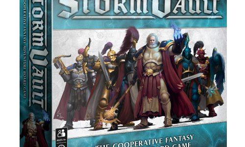 Stormvault, nuevo juego de mesa cooperativo en los Reinos Mortales