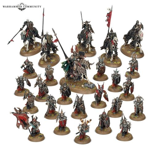 Llega al prepedido el Start Collecting! de Soulblight Gravelords junto a sus miniaturas anunciadas en el Warhammer Fest
