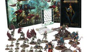 Caja Carrion Empire y battletomes nuevos para Skaven y Flesh-eater Courts
