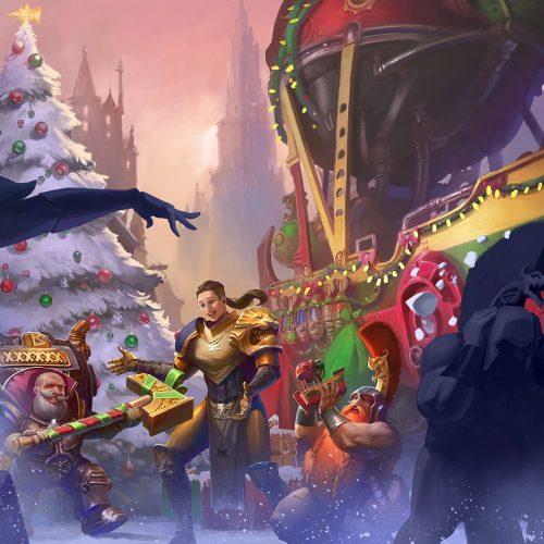 ¡Feliz navidad, habitantes de los reinos mortales!