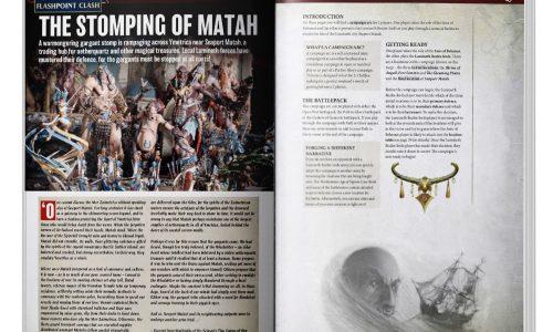 Los Hijos de Behemat recibirán una actualización de reglas en la White Dwarf