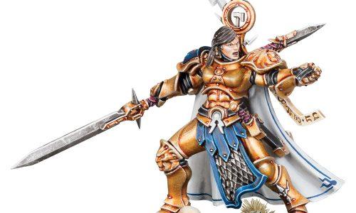 Nueva miniatura exclusiva para aniversarios de tiendas Warhammer y GW