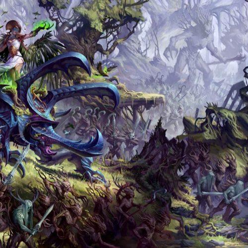 Sylvaneth: Hechizos permanentes y Bosques