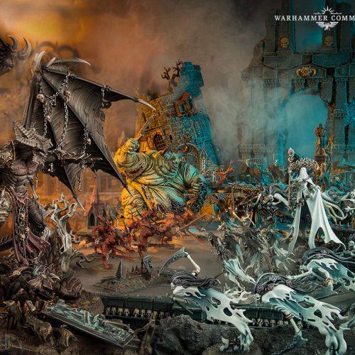 Adelanto de reglas de batallones de Broken Realms: Be'lakor
