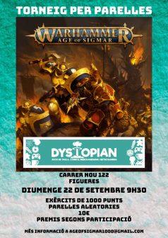 Torneo por parejas en Dystopian Hobbies @ Dystopian Hobbies - Figueres | Figueres | Catalunya | España