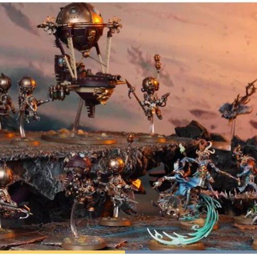 Caja Aether War y nuevos tomos para Kharadron y Tzeentch