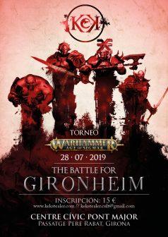 The battle for Gironheim @ Centre cívic Pont Major | Girona | Catalunya | España
