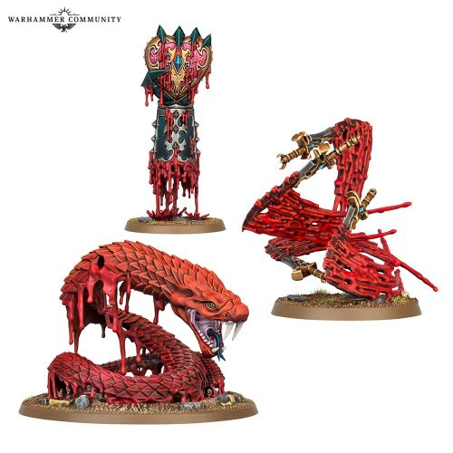 Battletome Daughters of Khaine: hechizos permanentes