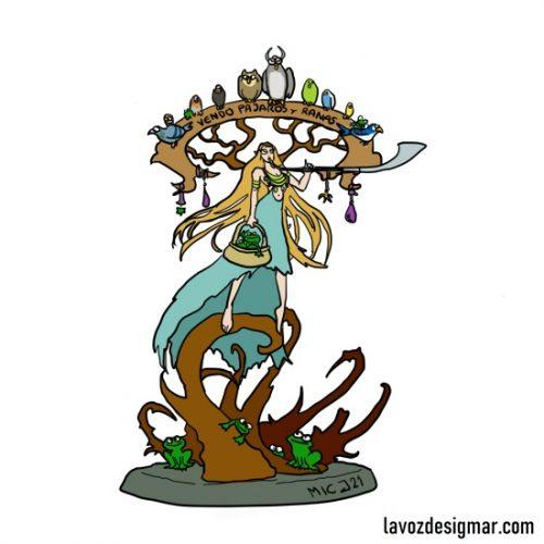 ¿Cuánto coincidirá del chorribujo Sylvaneth de Marina con la miniatura que se revelará hoy?
