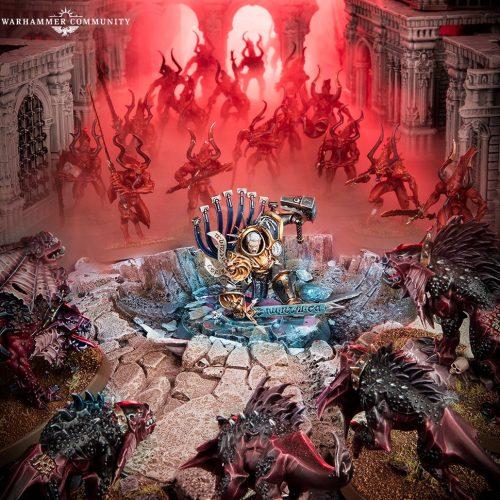 Gardus y sus Almas de Acero saltan hacia el campo de batalla
