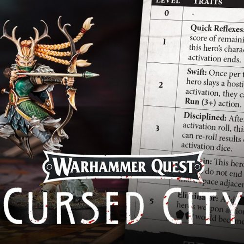 La subida de nivel de personajes en Warhammer Quest: Cursed City
