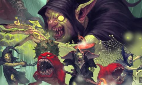 Vídeo de Warhammer Underworlds: Nightvault que confirma Goblins, Trolls y Darkoath