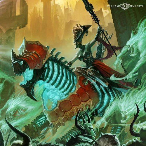 Adelanto de reglas de Neferata y su Legión de la Sangre